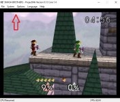 Smash Bros on Project64 - graphic issue.jpg